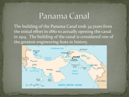 PowerPoint: Panama Canal