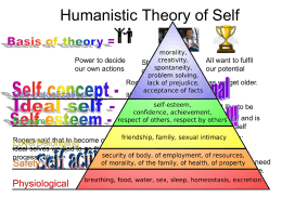 Humanistic Theory of Self