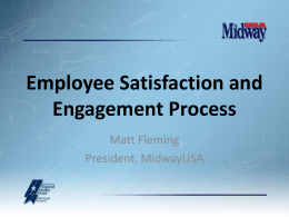 Employee Satisfaction and Engagement Process