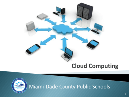 Cloud-Computing-Manny - Florida Association of Management