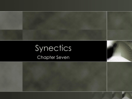 07 — Chapter Seven – Synectics