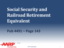 17-Social-Security-TY13-V1 - AARP Tax-Aide