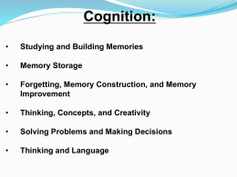 Memory - KCSD Connect