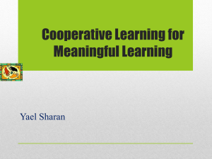 Cooperative Learning for Diverse Classrooms
