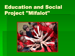 Mifalot - Cherish Our Children International