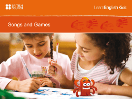Games - TeachingEnglish