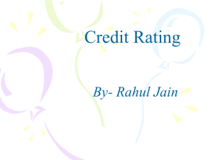 creditrating - Learning Financial Management
