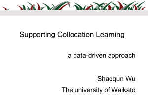 support collocation learning - short