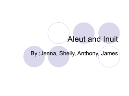 Aleut and Inuit