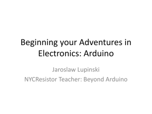Arduino as a Prototyping Platform