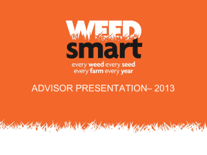 PowerPoint - Weed Smart
