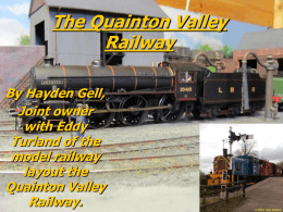 The Quainton Valley Railway