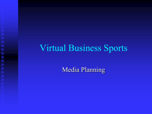 VBS Media Planning Powerpoint
