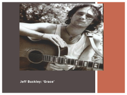 Jeff Buckley: `Grace`