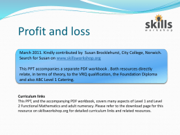 Profit & Loss PPT