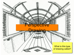 1 and 2 point perspective PP
