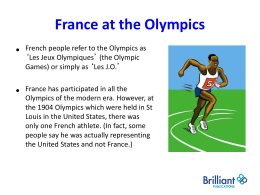 French-Olympics-PowerPoint