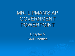 mr. lipman`s ap government powerpoint