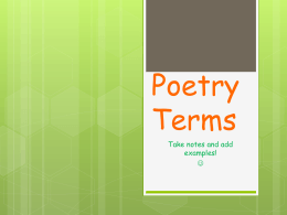 poetry_terms_ppt