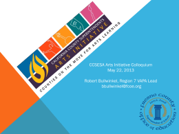 Literacy through Common Core State Standards and the Arts