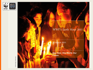 WWF`s Earth Hour 2011