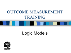 OUTCOME MEASUREMENT TRAINING