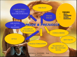 thesis statement in jane austen`s pride and prejudice mr george pride prejudice