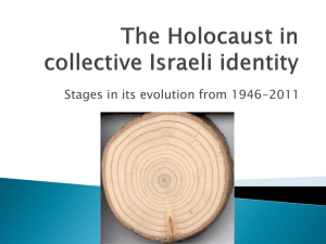 The Holocaust in collective Israeli identity