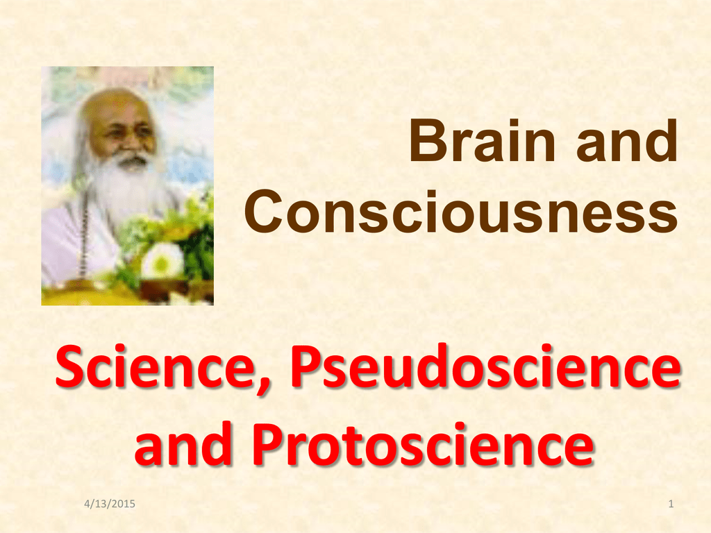 5. Science, Pseudoscience, and...