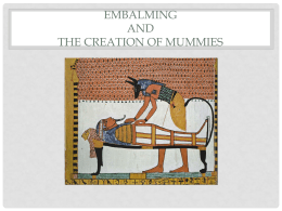 Mummification Powerpoint