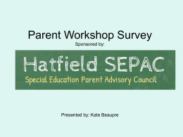 Welcome_files/Parent Workshop Survey