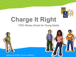 "Notes: MoneySmart - ""Charge it Right!"