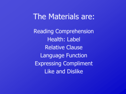 reading-comprehension-relative-clause-expressing