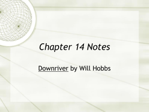 Chapter 14 Notes Downriver