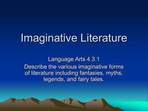 Imaginative Literature