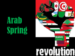 Arab Spring Butterfly Effect