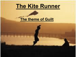 the kite runner essay example  the kite runner guilt powerpoint
