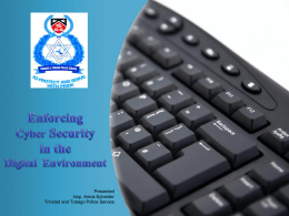 Enforcing Cyber Security in the Digital Environment