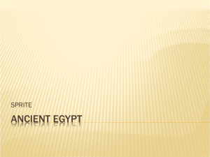 Ancient Egypt - the best world history site