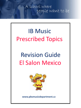El Salon Mexico Study Guide
