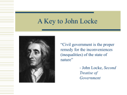 A-Key-to-John-Locke
