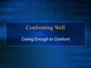 Confronting Well inet