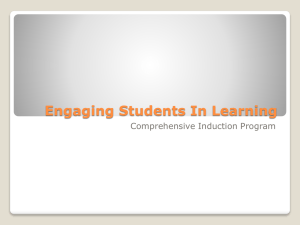 Engaging Students in Learning PowerPoint Presentation