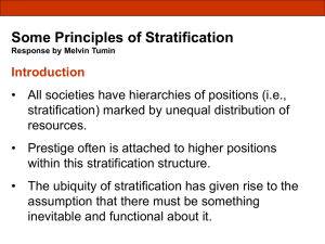 Some Principles of Stratification Response by Melvin Tumin