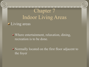 Chapter 7 Indoor Living Areas