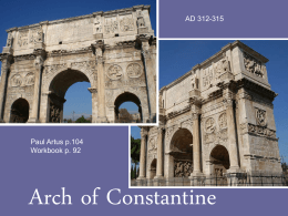 ARCH OF CONSTANTINE FINAL