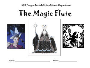 The Magic Flute - PBS Music Department!