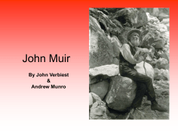 John muir power point