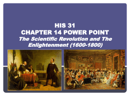 HIS 31 Chapter 14 Power Point