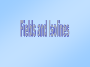 Fields & Isolines